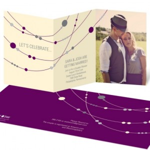 Bridal Shower Invitations -- Simple Strands