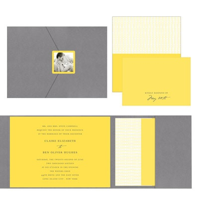 Wedding Invitations -- Modern Mix
