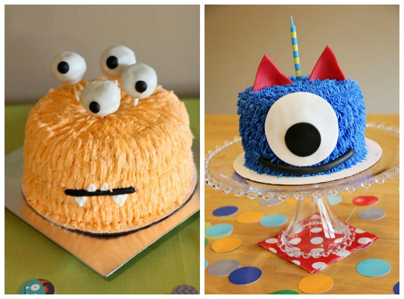 Monster Birthday Party Cakes
