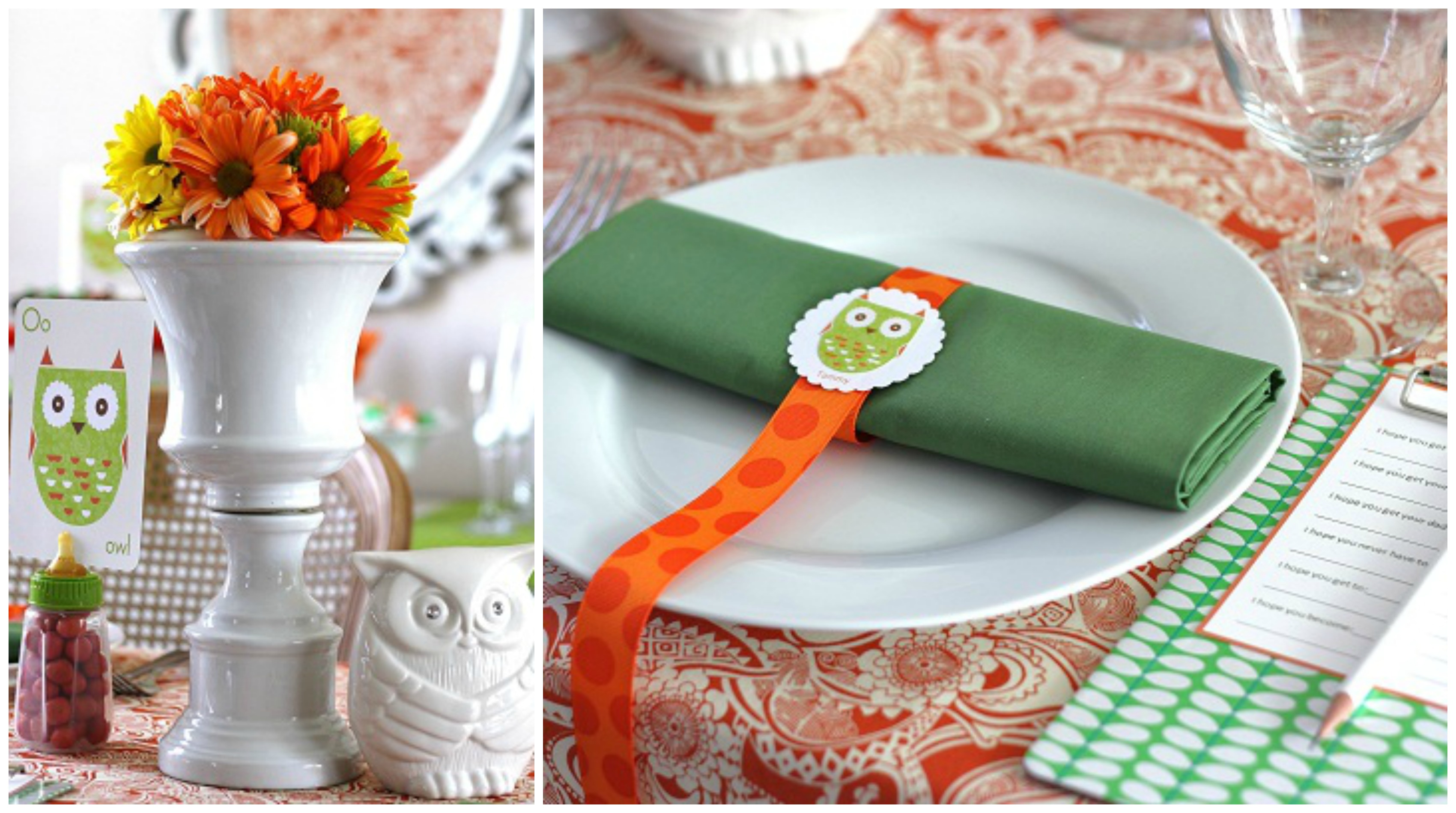 Whooo Wouldn t Love These Owl Baby Shower Ideas