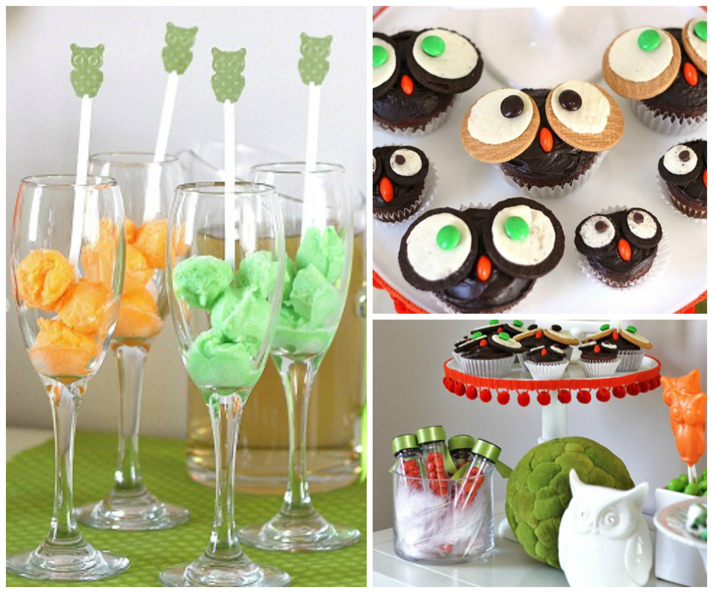 whooo wouldn't love these owl baby shower ideas?  pear tree blog, Baby shower