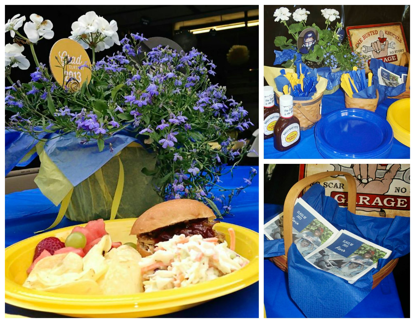 Graduation Party Ideas Garage Party Pear Tree Blog