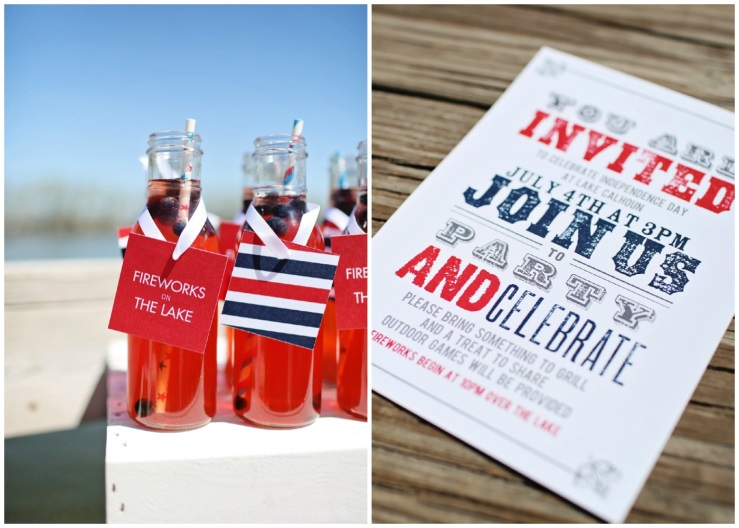 4th of July Ideas: Picnic by the Lake | Pear Tree Blog