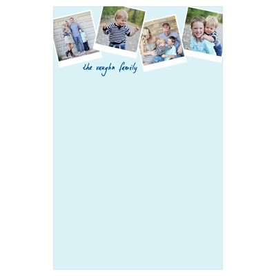 Custom Notepads -- Scrapbook Page