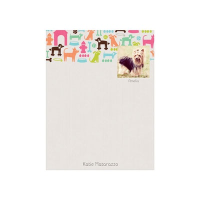 Custom Notepads -- Dog Lover