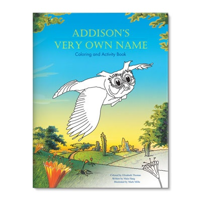 Kids Coloring Books -- My Very Own Name