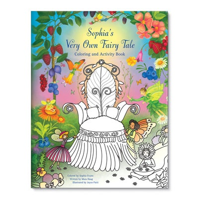 Kids Coloring Books -- My Very Own Fairy Tale