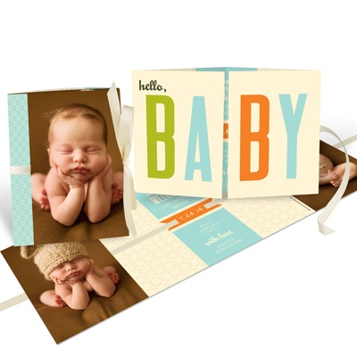Photo Baby Announcements -- Baby Book