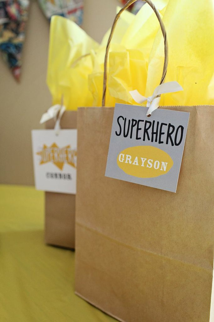 Kids Party Decorations -- Searching for Superheroes