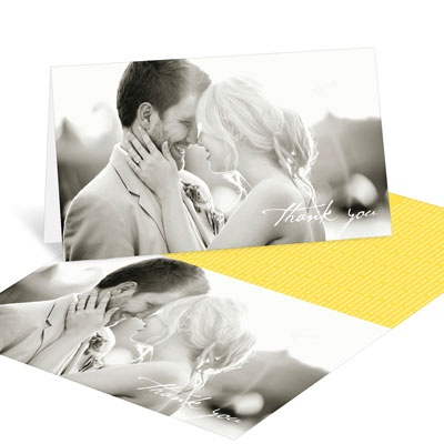 Wedding Thank You Cards -- Modern Mix Horizontal