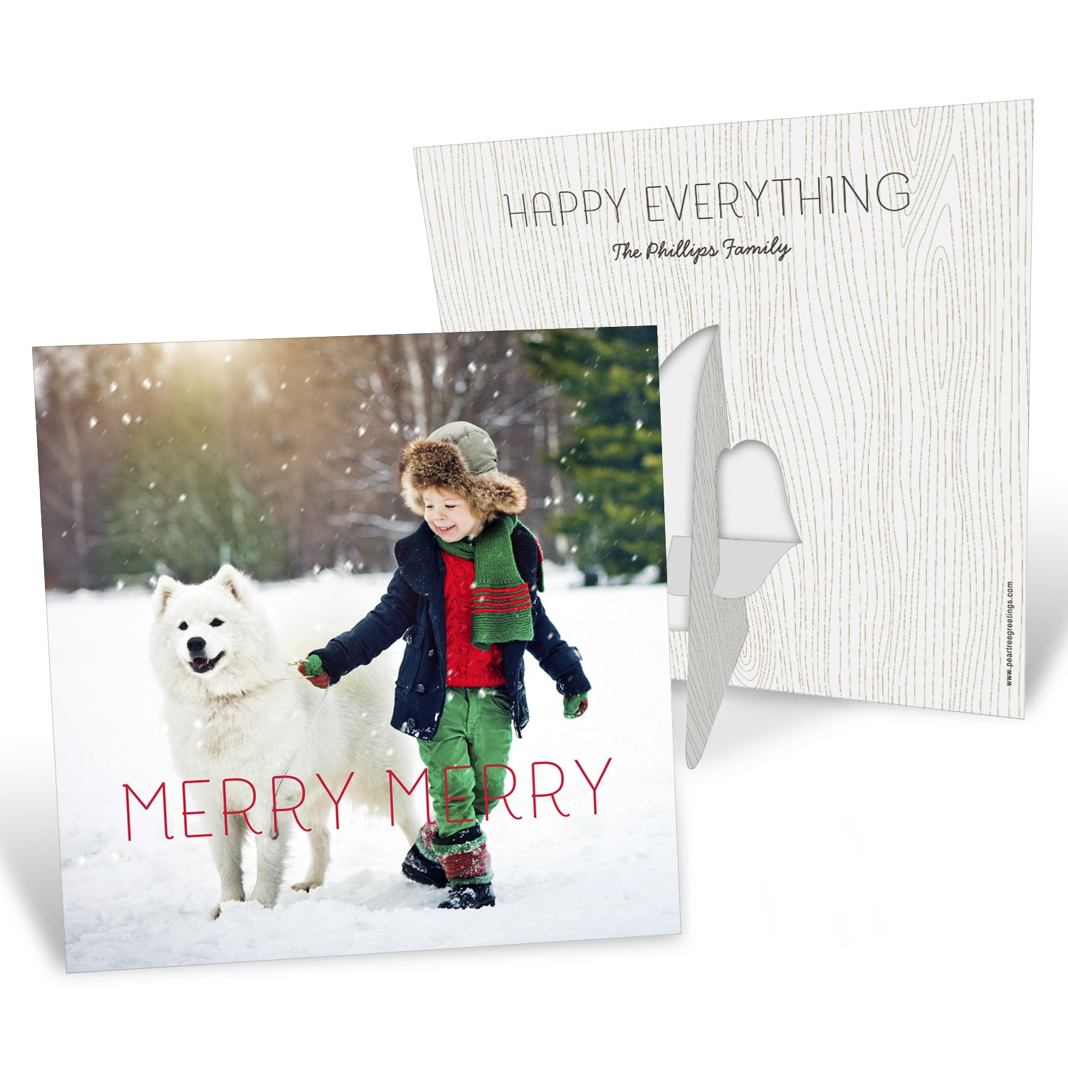 Merry Merry Picture Frame Christmas Cards