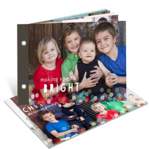 Twinkle Lights Photo Book -- Christmas Cards