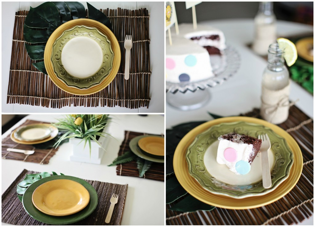 Place Setting Collage