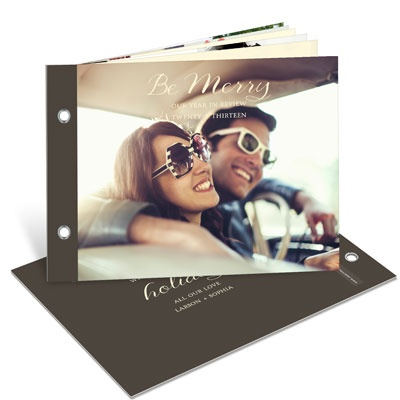 Year in Review Photo Book Photo Christmas Cards