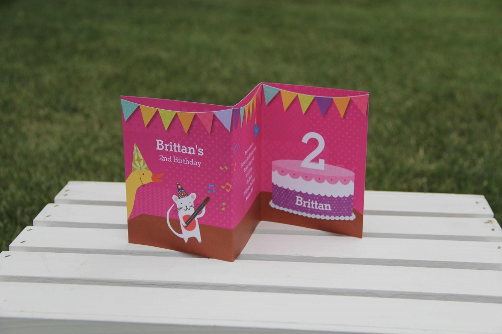 Kids Birthday Invitations -- My Very Happy Birthday for Girls