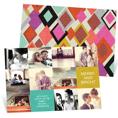 Photo Christmas Cards -- Patchwork Of Photos