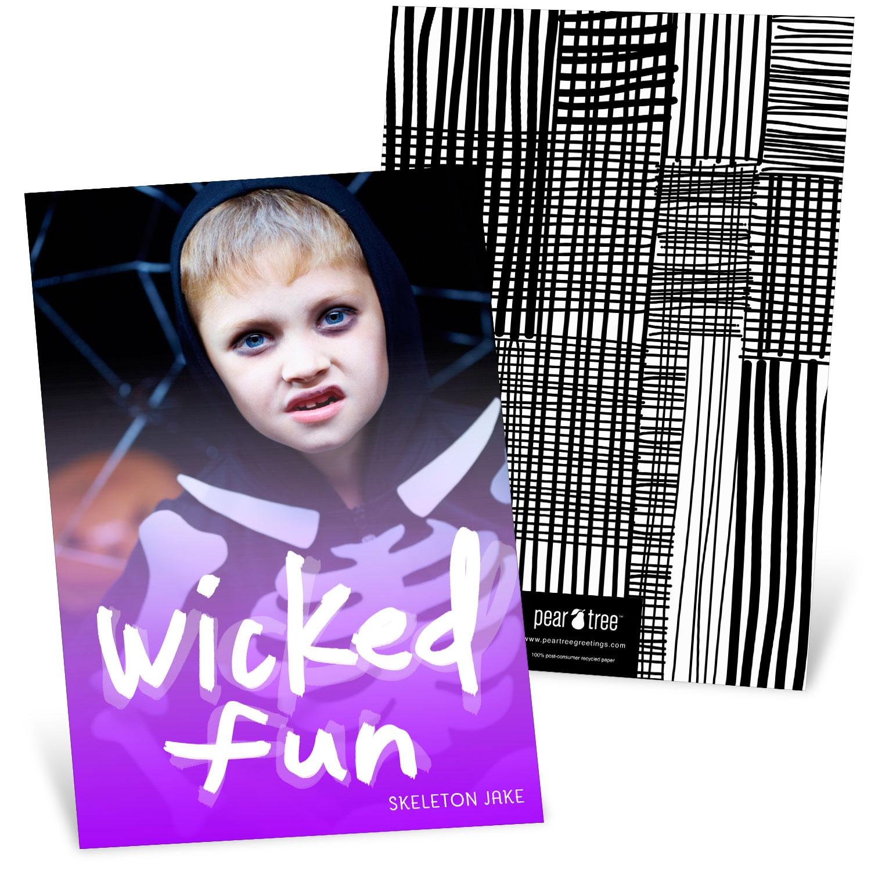 Wicked Fun Halloween Photo Cards