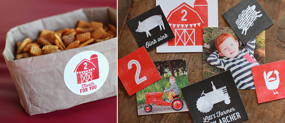 Farm Birthday Party Ideas with Printables!