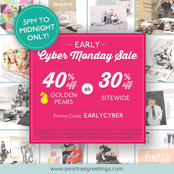 Early Cyber Monday Sale!