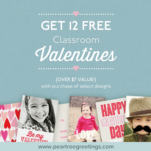 12 Free Valentine's Day Cards for Kids!