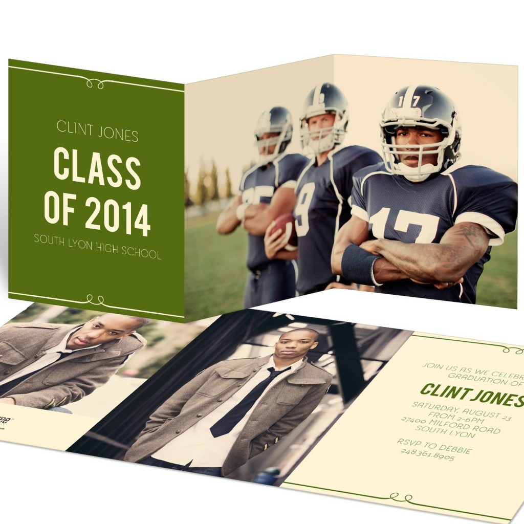 Sneak Peek! Classic Graduation Invitation Ideas #graduationinvitationideas #graduationannouncements #classof2014 #peartreegreetings