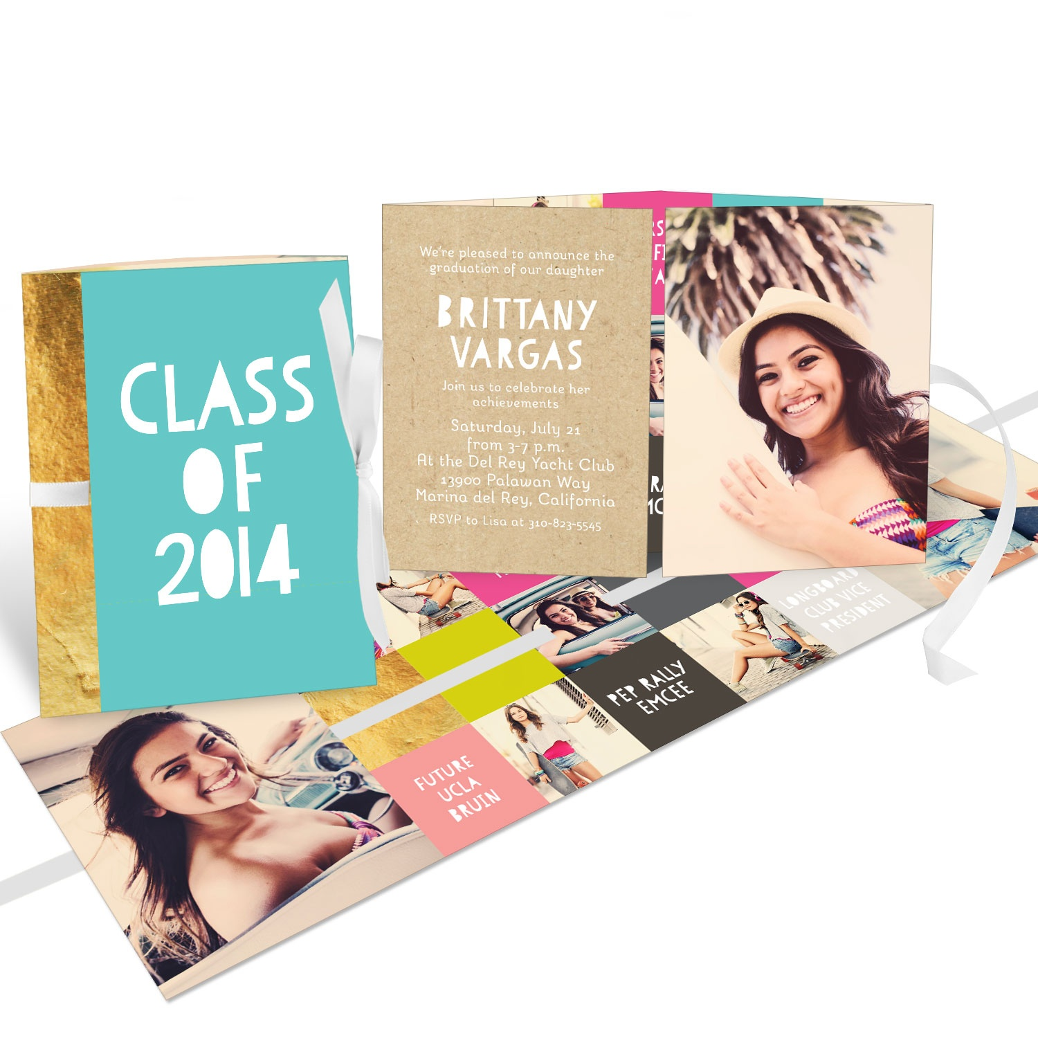 Sneak Peek Modern Graduation Invitation Ideas Pear Tree Blog