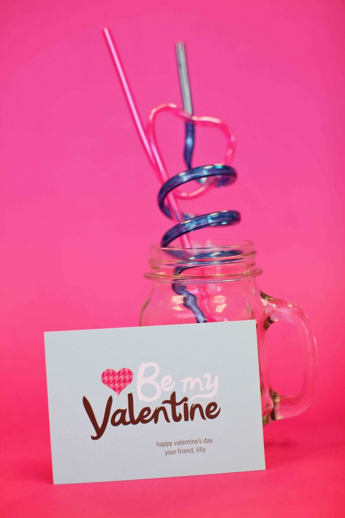 Top 10 Kids Valentine Ideas: Stylish Message + Stylish Straw #peartreegreetings #valentinesdayideas