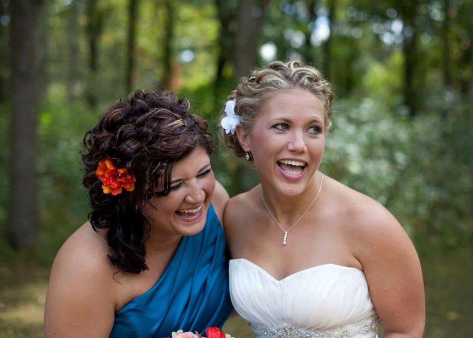 His + Hers = Ours: Wedding Photo Ideas #weddingphotoideas #peartreegreetings #weddingideas