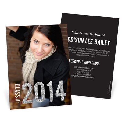 Graduation Announcement Ideas: What's Your Style? Glam #graduation #peartreegreetings