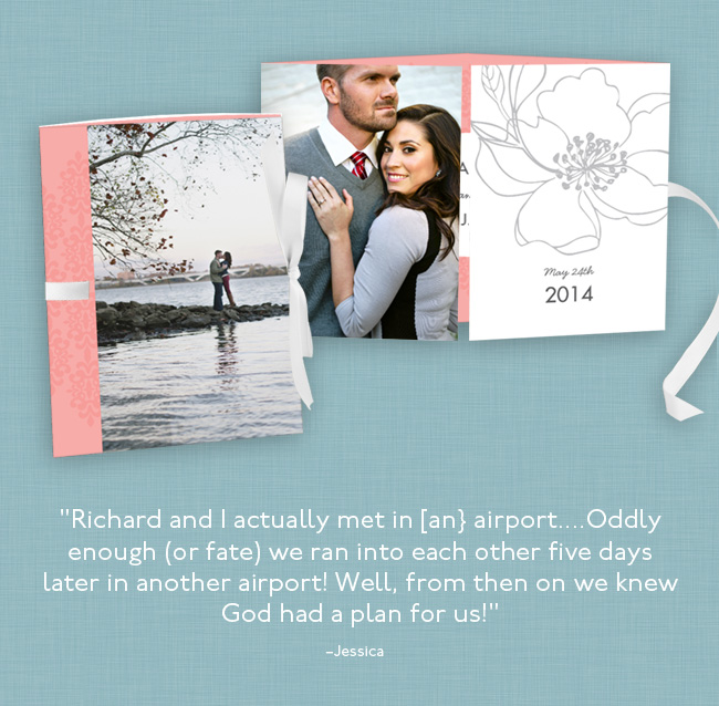 Featured Favorite from PearTreeGreetings.com - Real cards created by real people! #peartreegreetings #weddinginvitationideas #weddingideas
