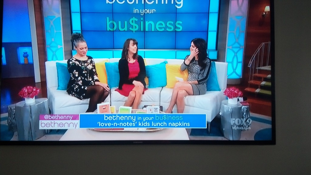 Pear Tree Greetings was featured on national television show, Bethenny!! #peartreegreetings #bethenny #bethennyshow