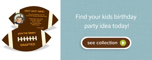 Shop kids birthday party invitations!