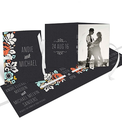 New collection of photo wedding invitations from @peartreegreet #photo #peartreegreetings #photoweddinginvitations