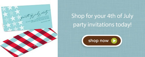 Shop 4th of July party invitations today!