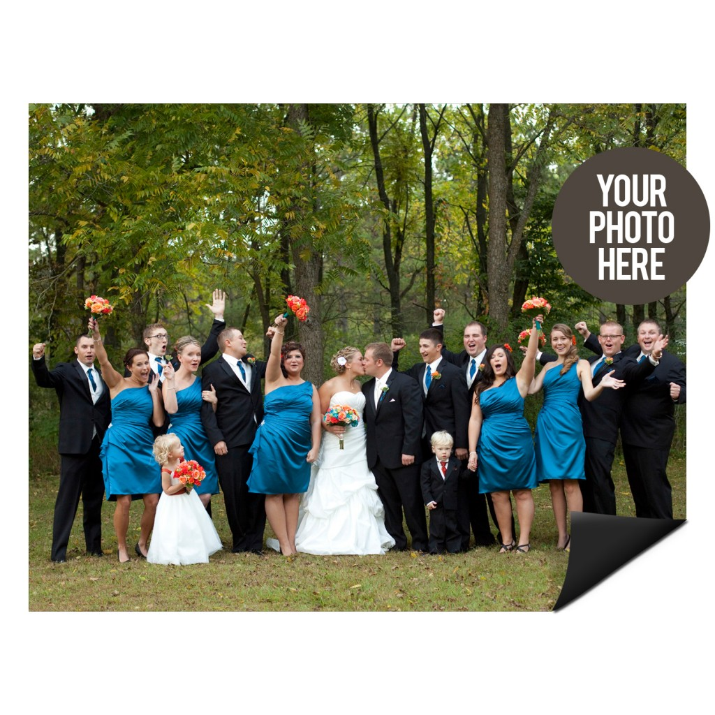 Create photo magnets with our DIY cards! #DIY #wedding #baby #peartreegreetings