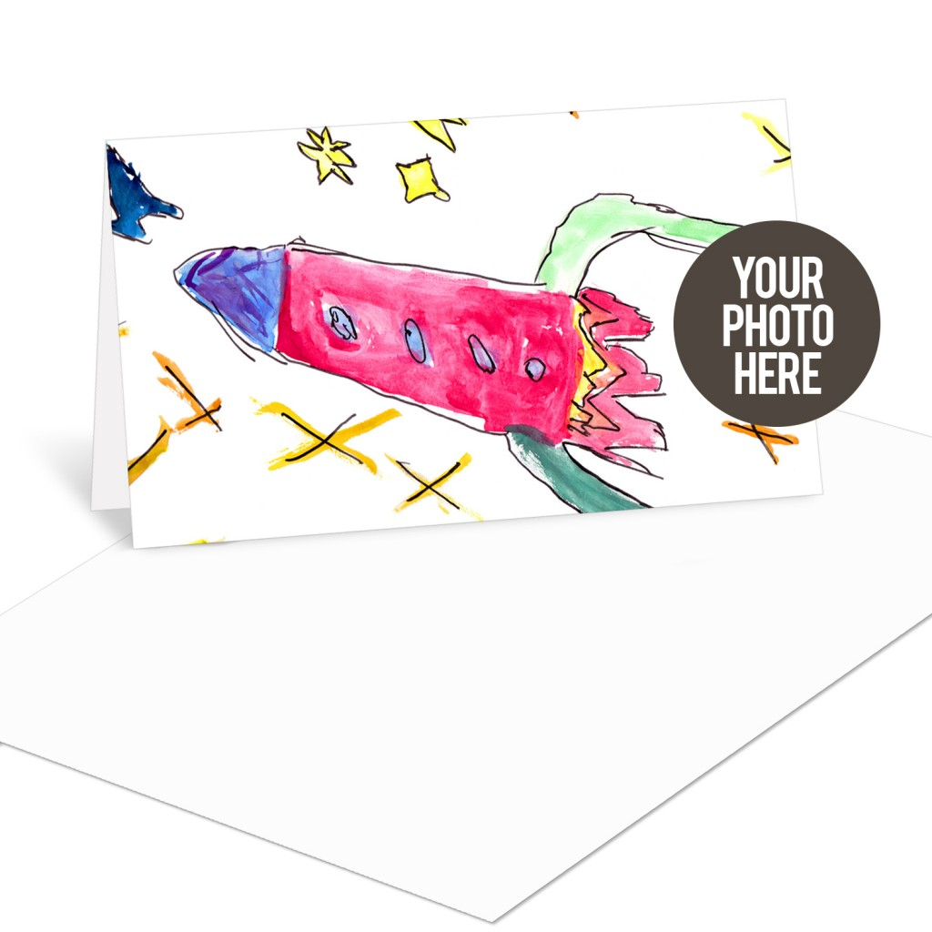 Create kids stationery with our DIY cards! #DIY #kids #artwork #peartreegreetings