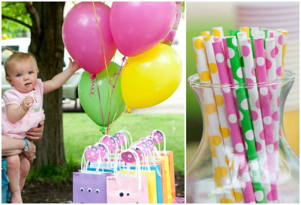 Monster-themed kids birthday party ideas #peartreegreetings #monster #birthday