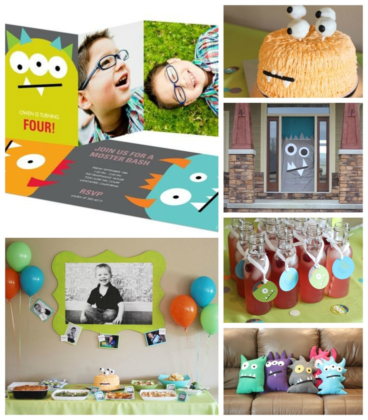 See the top kids birthday party ideas from @peartreegreet #kidsbirthdaypartyideas #peartreegreetings #birthdayparty #monster