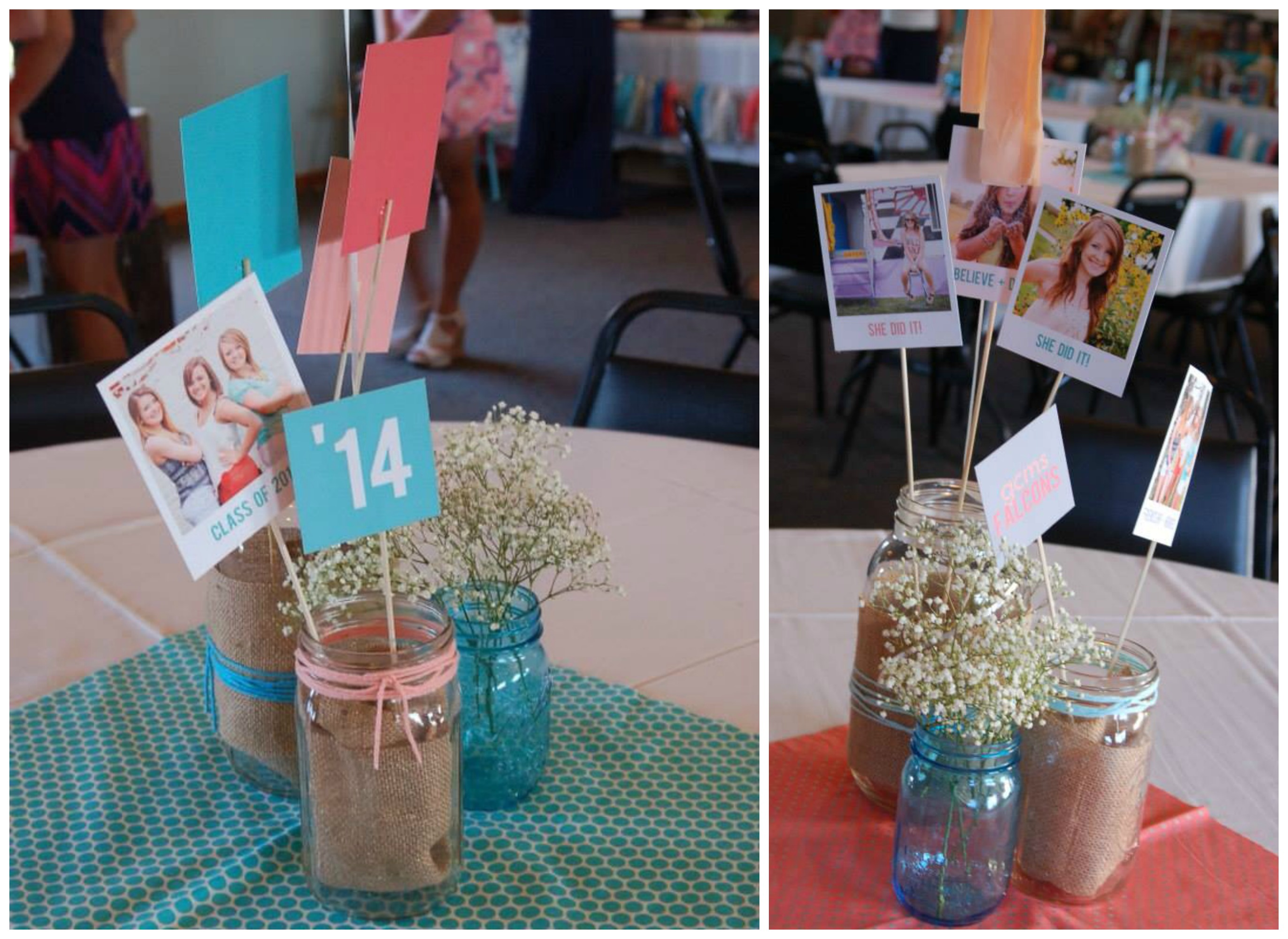 Graduation party ideas from a recent featured favorite Table decoration ideas for parties