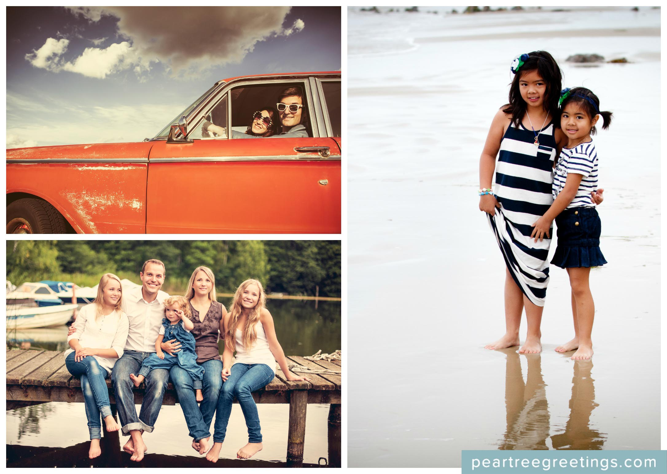 Summer Photo Ideas for the Happiest of Holiday Cards | Pear Tree Blog