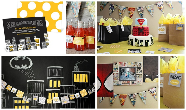 See the top kids birthday party ideas from @peartreegreet #kidsbirthdaypartyideas #peartreegreetings #birthdayparty #superhero