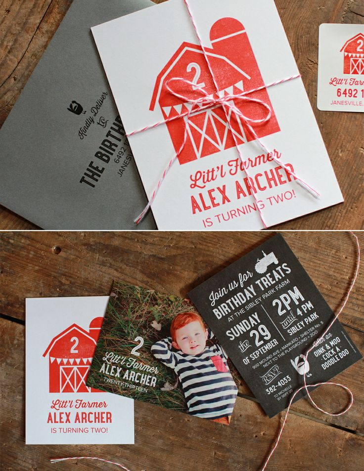 Top products and ideas pinned from #peartreegreetings! #toppinned #kidsbirthday #farmer