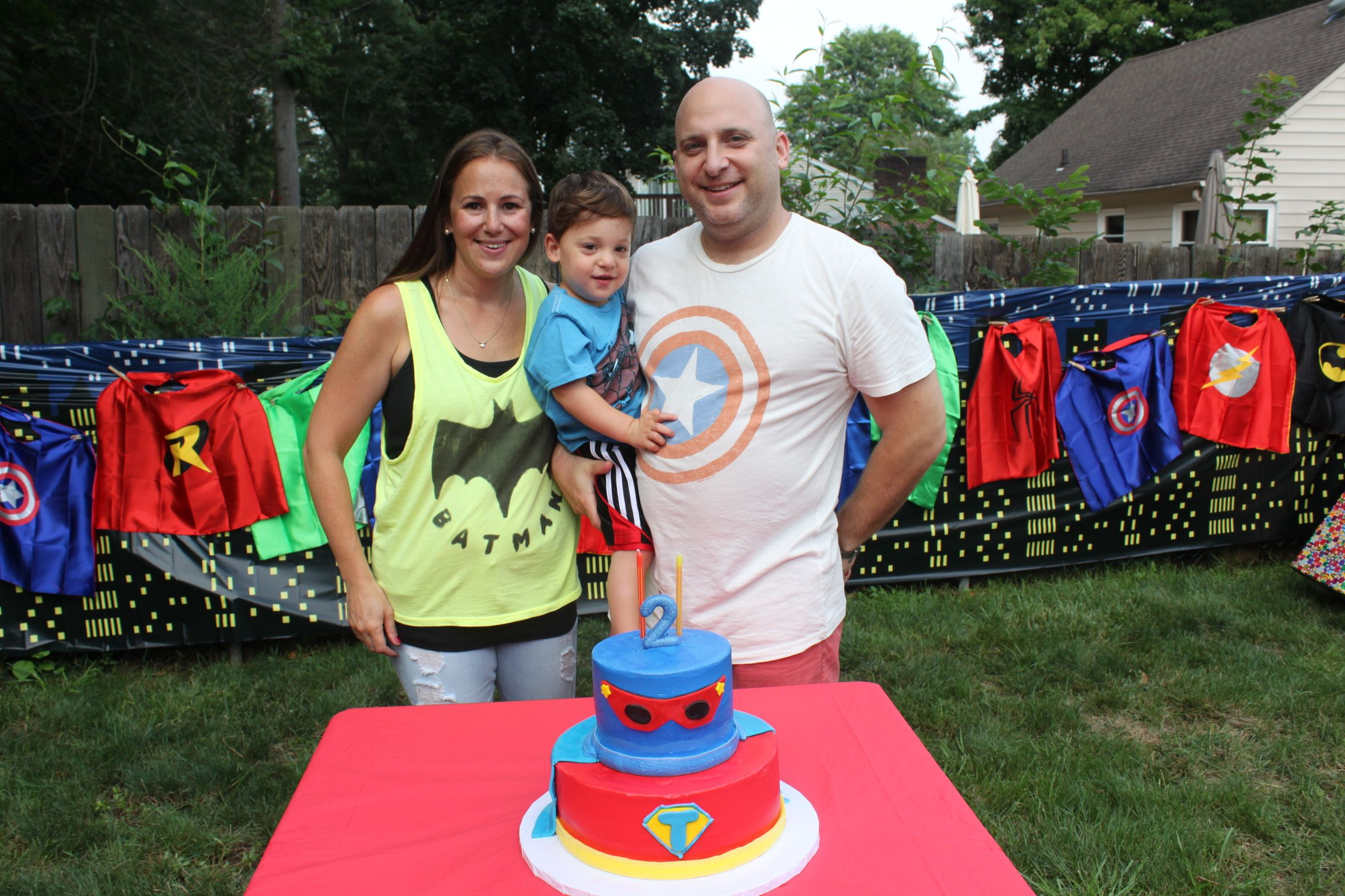 Superhero party ideas from one of our customers! See how she pulled the party together  sc 1 st  Pear Tree & Featured Favorite: Superhero Party Ideas | Pear Tree Blog