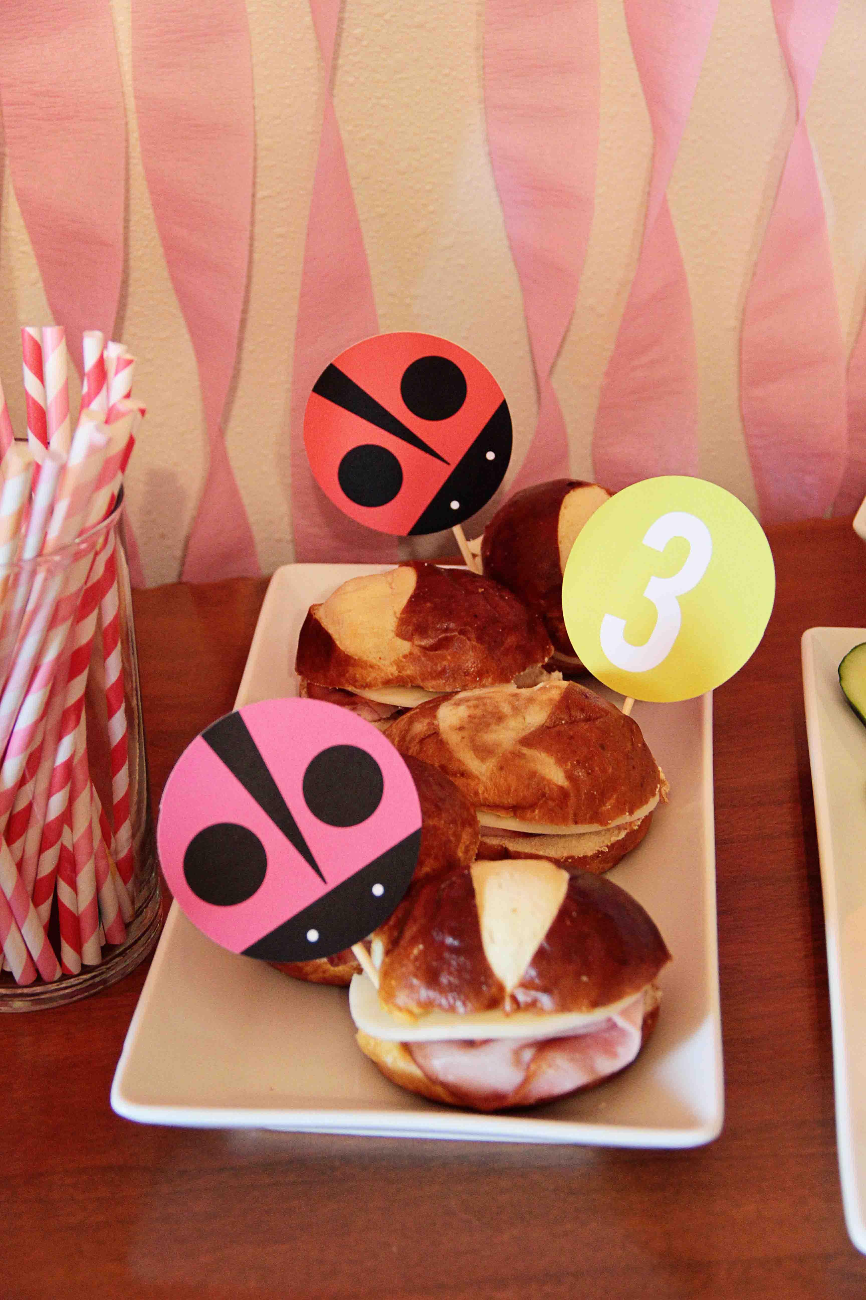 my little ladybug kids birthday party ideas pear tree blog