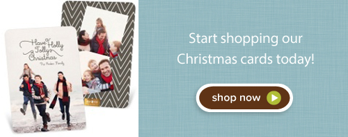 Shop Christmas cards today!