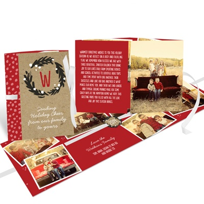 Christmas card wording ideas