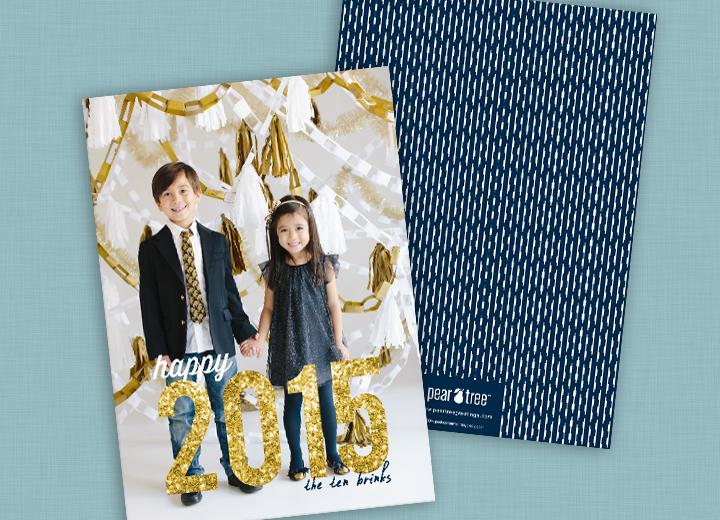 New Year's Card Idea