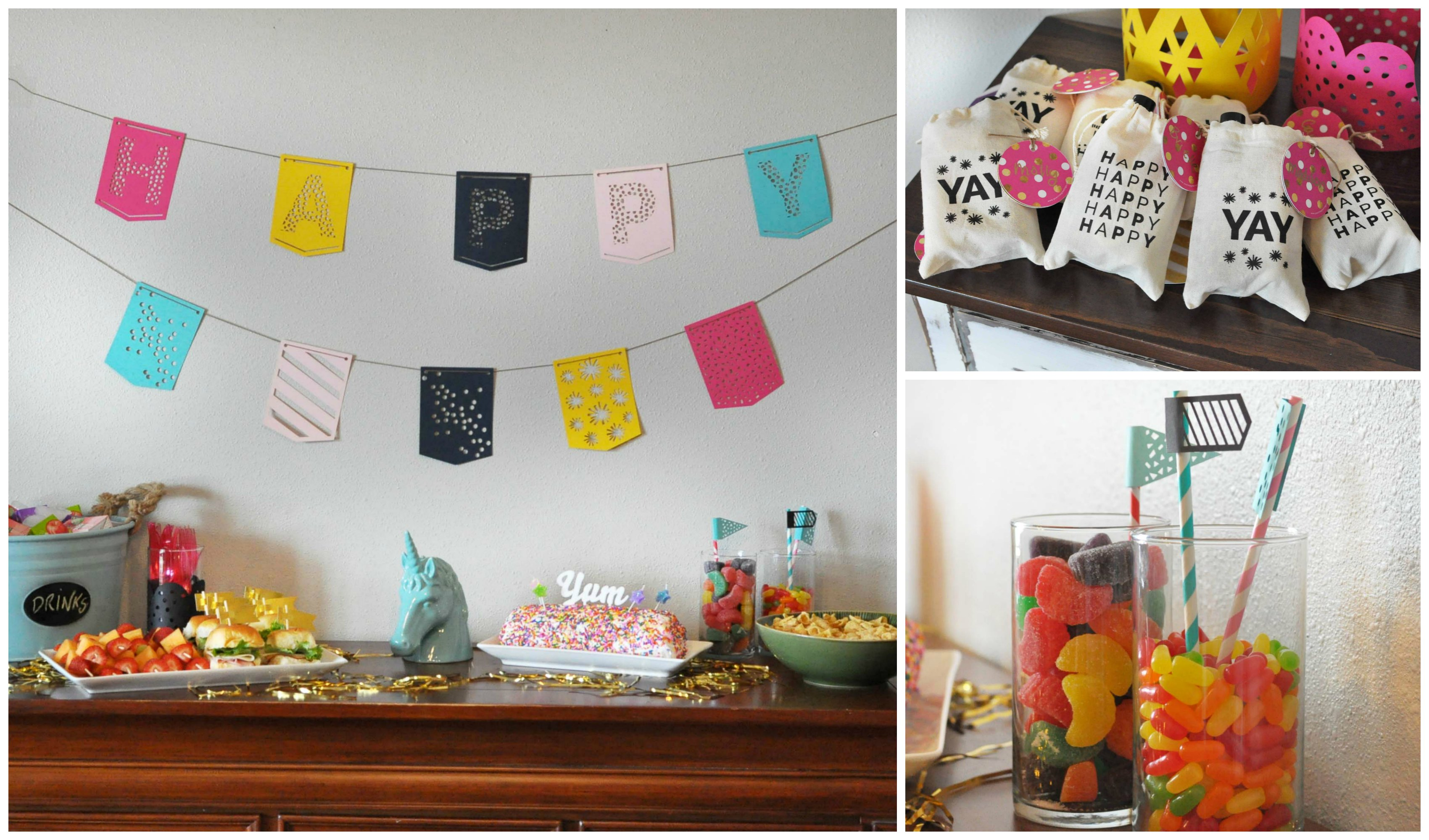 Unicorn Birthday Party Ideas for Girls | Pear Tree Blog