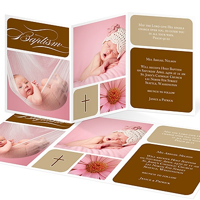 Baptism Invitations and Christening Invitations