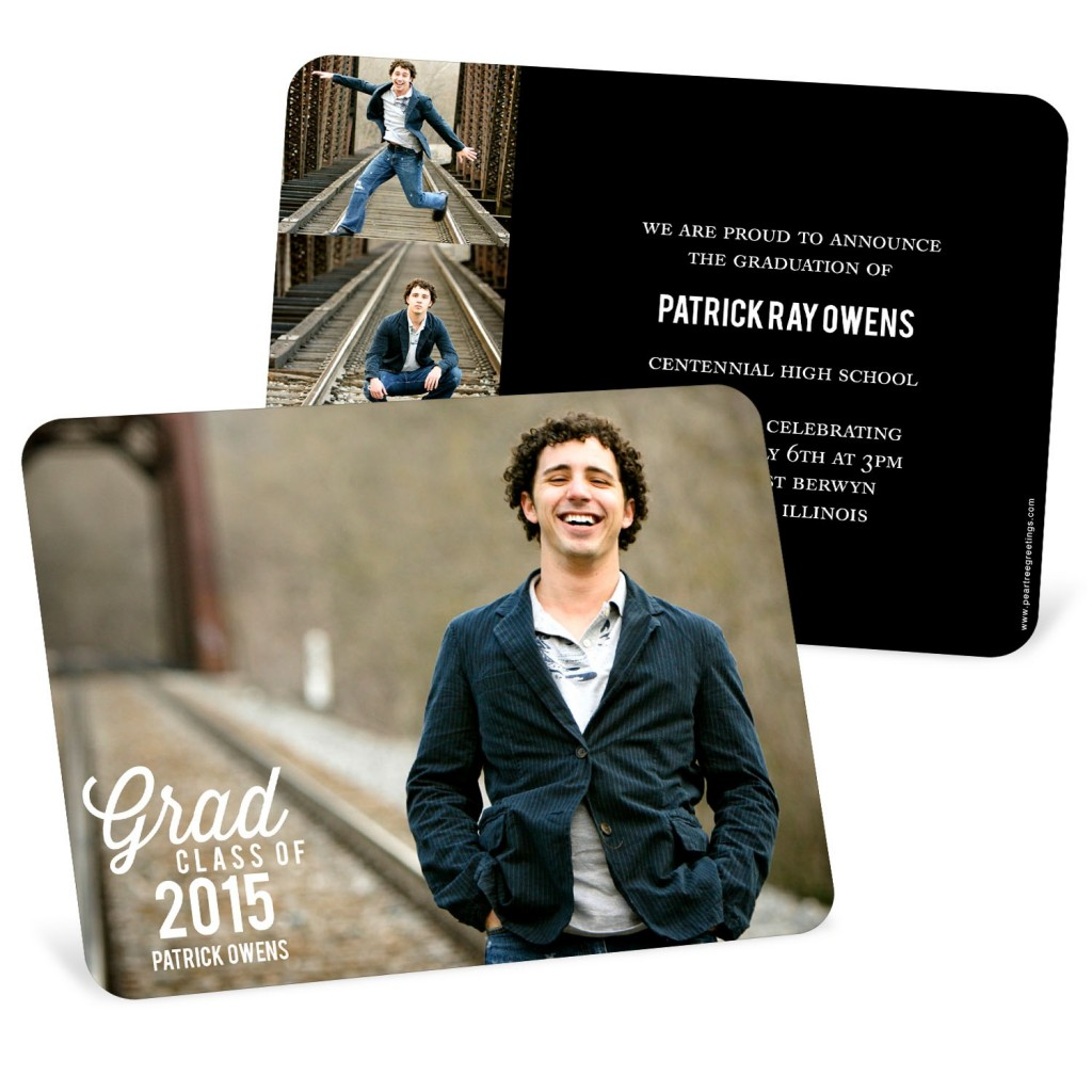 Favorite Photo Horizontal Graduation Announcements